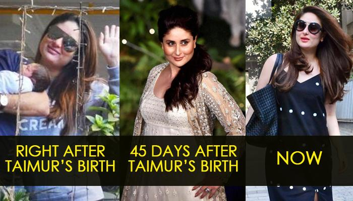 Kareena Does 'Aerial Silk Yoga' To Lose Post Pregnancy Weight And Balancing Out Hormones