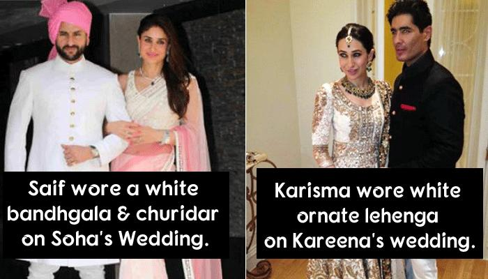 This Is What Celebs Chose To Wear On Their Siblings' Wedding And Other Functions
