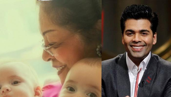 Karan Johar Finally Shares The Complete Picture Of His Twins Yash And Roohi
