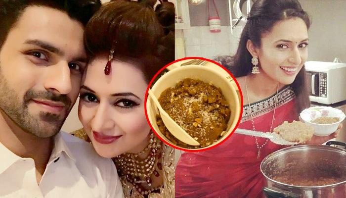 Divyanka Tripathi Prepared 'Halwa' For 'Pati' Vivek For The First Time And This How He Reacted