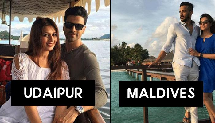 5 TV Celeb Couples And Their Gorgeous Honeymoon Destinations