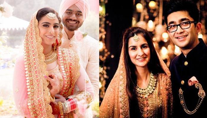 Steal The Look: 6 Colour Coordinated Couples On Their Wedding Days Who Will Leave You Spellbound