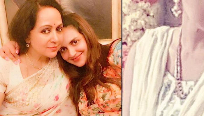 First Look Of Esha Deol For Her 'Godh Bharai' Ceremony; She Is Looking Like A Princess