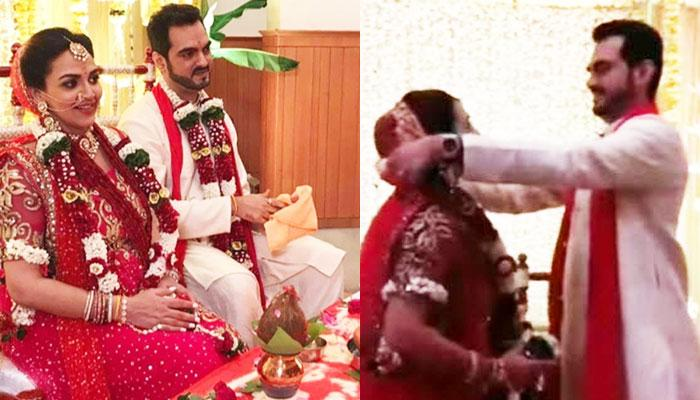 Video Out: Esha Deol's 2nd Marriage With Bharat Takhtani Was A Grand