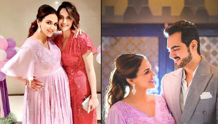In Pics: Maasi-To-Be Ahana Surprised Esha Deol With An Adorable Lavender Themed Babyshower