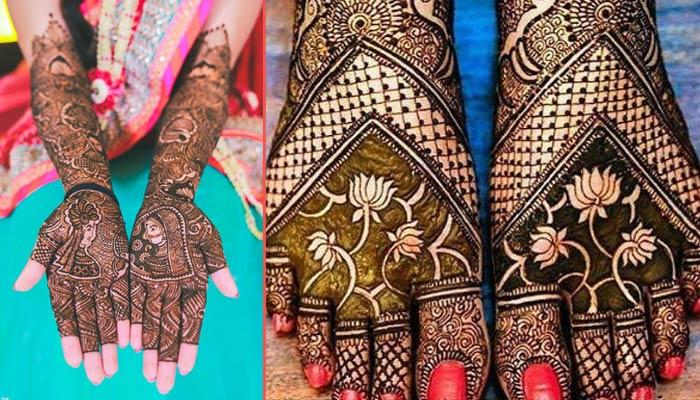 40 Ethereal And Majestic Mughal Mehendi Designs That Every Bride Can Flaunt