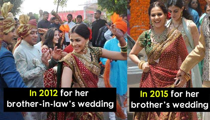It Is Cool To Repeat: 5 Reasons Why We Absolutely Love Genelia And Her Lehenga