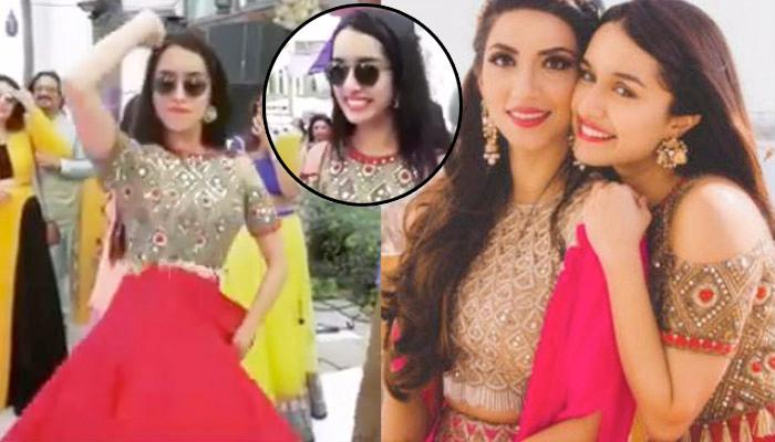 Shraddha Kapoor Dancing At Her Best Friend's Wedding Is Pure Bestie Goal