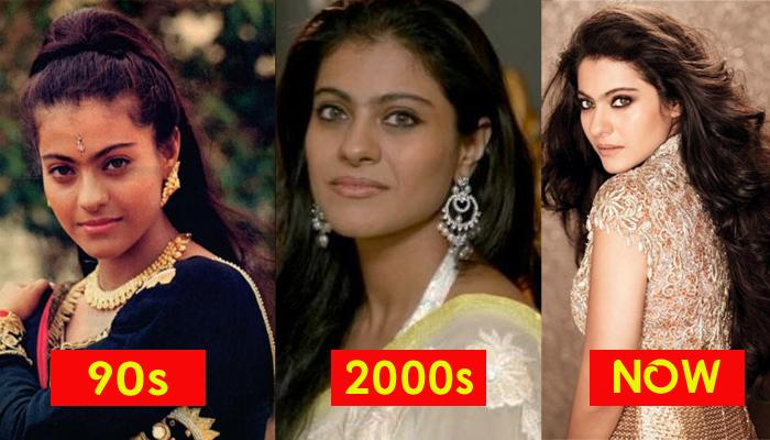Kajol's Makeover Over The Years- Her Journey From An Actress To A Diva