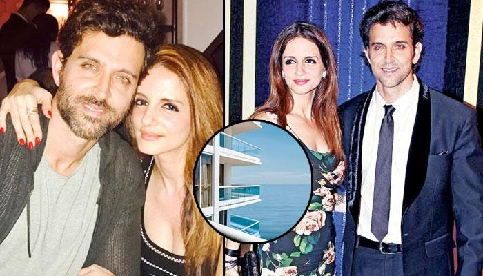 Has Hrithik Roshan Gifted A Luxurious Apartment In Juhu To Ex-Wife Sussanne Khan?