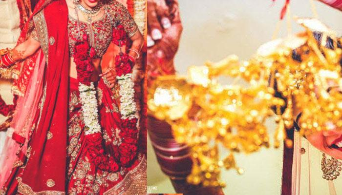 This 'Ishqbaaz' Actress Got Married In Delhi And Wore The Most Gorgeous Lehenga In Red And Peach