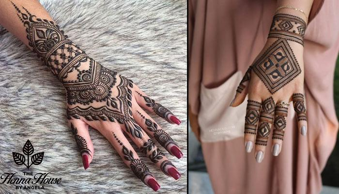 Moroccan Mehndi Patterns : Creative and unique moroccan mehendi designs that all brides to