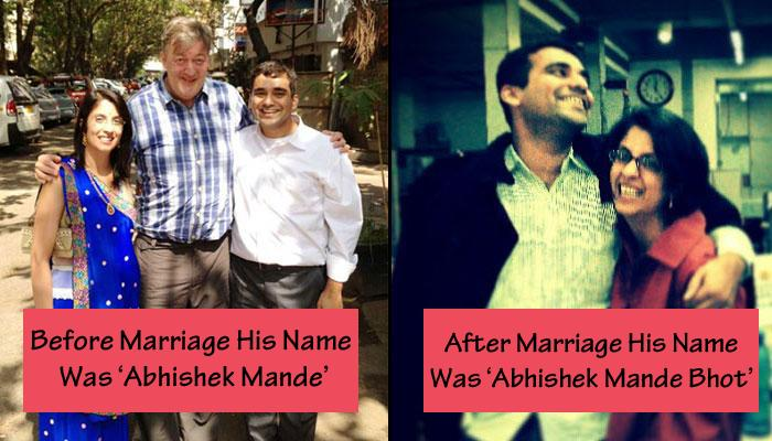 This Man Took His Wife's Last Name After Marriage And Broke All