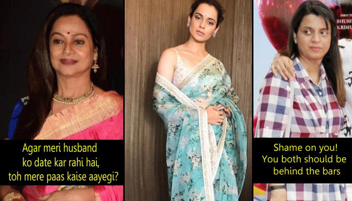 Zarina Defends Her Husband Aditya Pancholi, Gets Slamed By Kangana's Sister Rangoli