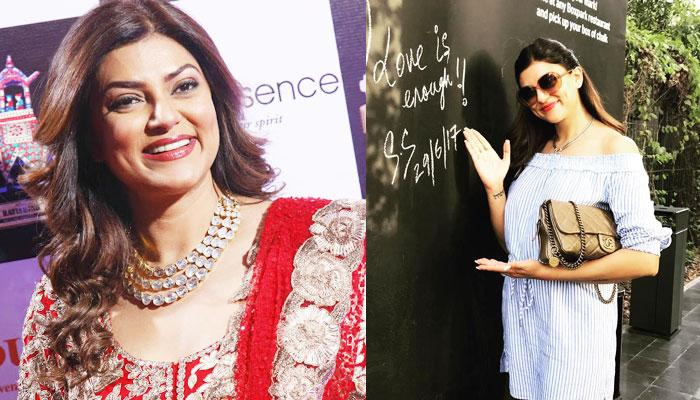 Sushmita Sen Just Said 'I Love You' To Her New Found Love