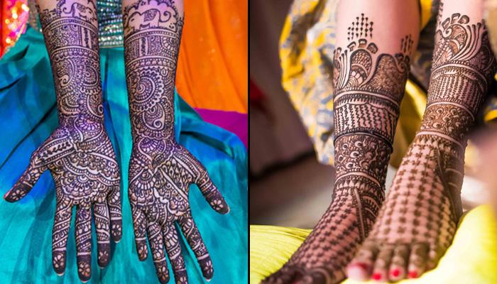 11 Arabic Mehendi Designs For A Magnificent Makeover That Every Bride Can Flaunt