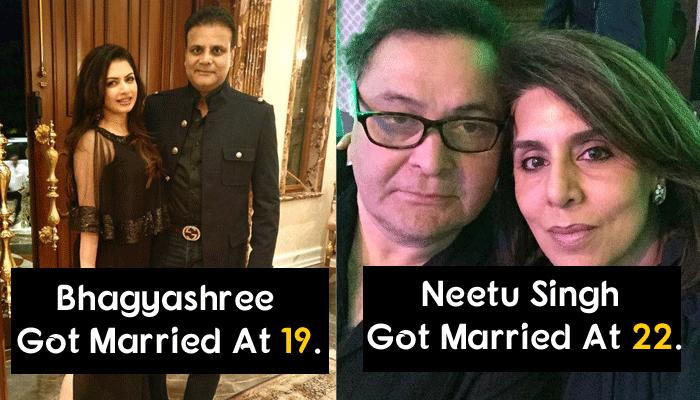 16 Actresses Who Got Married At The Peak Of Their Careers