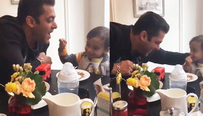 Mamu Salman Khan's Infectiously Adorable Moments With Ahil In This Video Are Too Cute To Miss