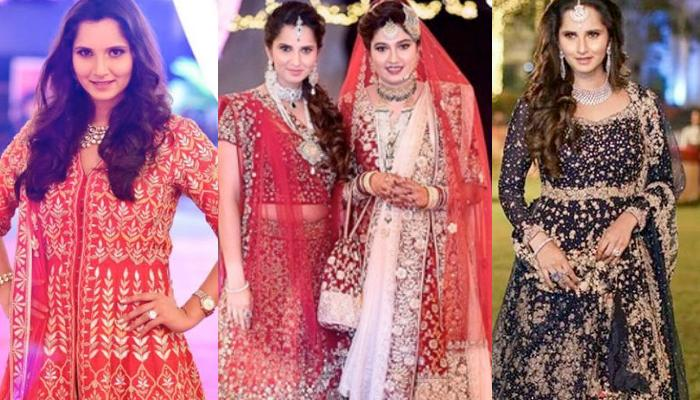 Sania Mirza's Gorgeous Bridesmaid Dresses At Her Sister Anam's Wedding Is Pure Sister Goals