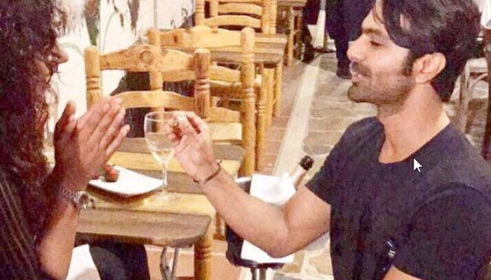 Ashmit Patel And Mahek Chahal Get ENGAGED In Spain; Ring Served On Plate With Strawberries