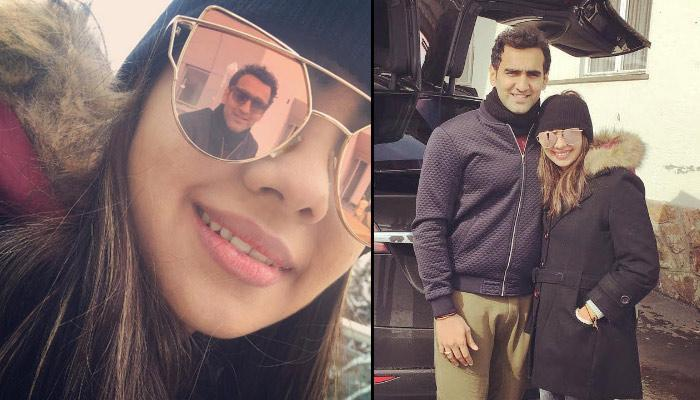 When Pooja Banerjee And Sandeep Sejwal Went Honeymooning In The Alps