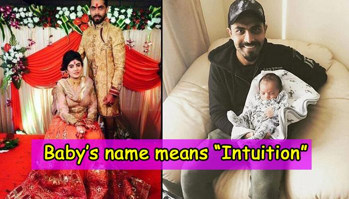 When Cricketer Ravindra Jadeja And Wife Rivaba Solanki Gave Sanskrit Inspired Name To Their Baby