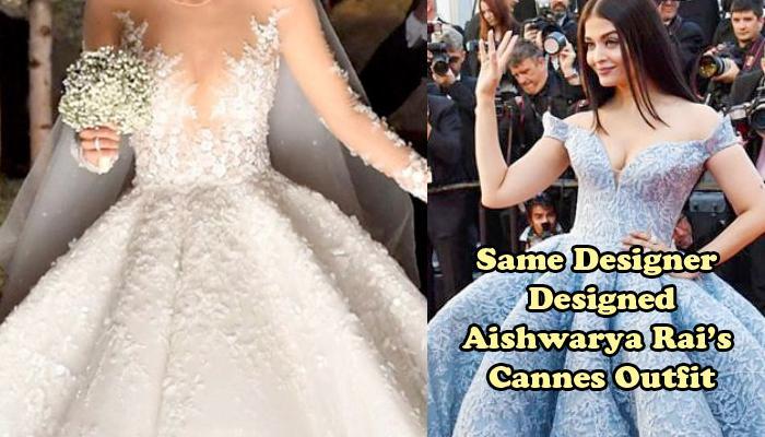 Swarovski Heiress Got Married In A 46 Kg Wedding Gown Studded With 500,000 Swarovski Crystals