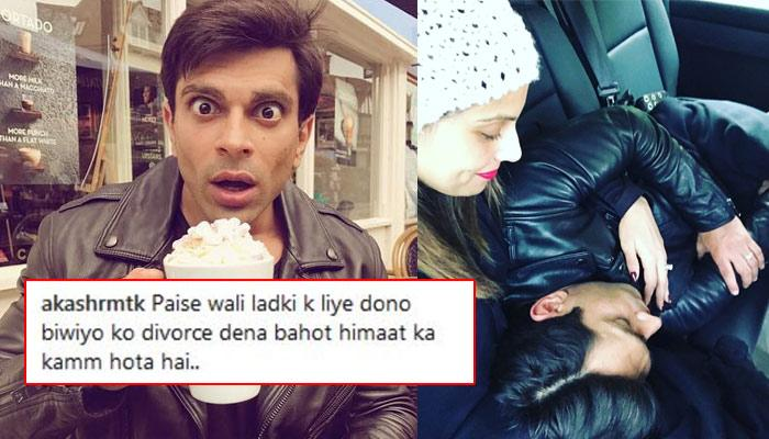 Karan Singh Grover Got Badly Trolled By Jennifer's Fans For Posting A Romantic Picture With Bipasha