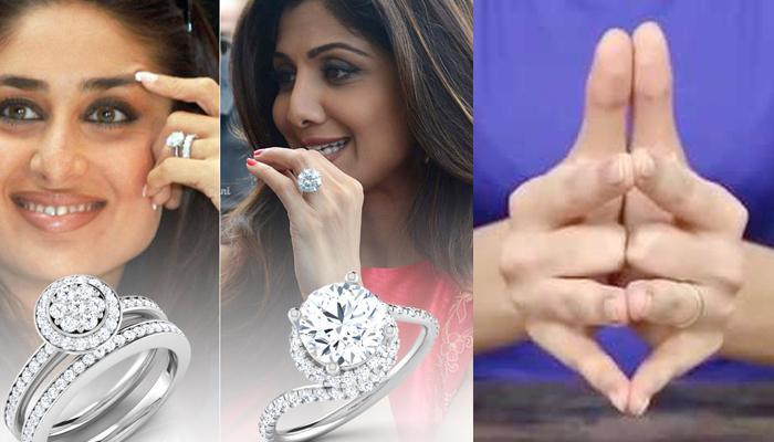 Why Engagement Rings Are Always Worn On The Fourth Finger Of Left Hand? There's A Logic Behind This