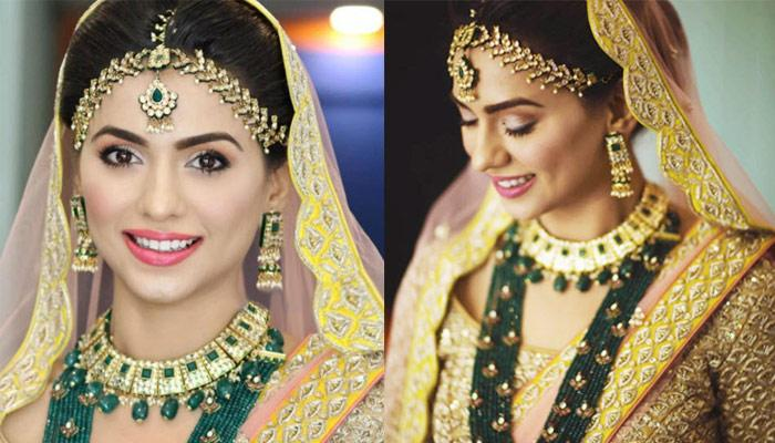 Priya Bathija Ditched Traditional Red For This Color-Combo; Her Bridal Outfit Took Our Breath Away