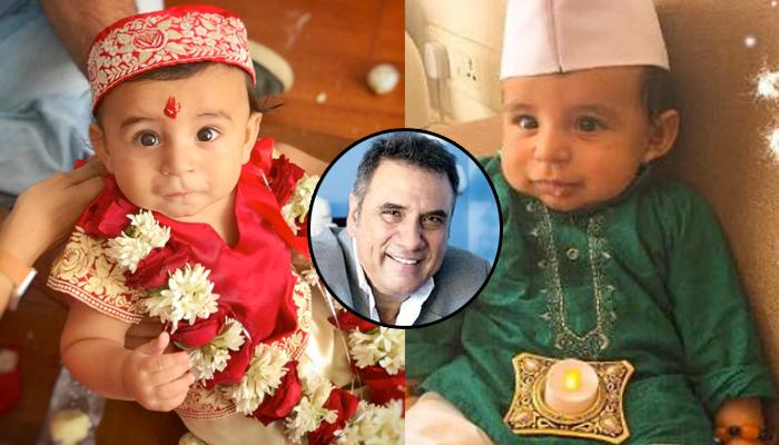 Grandfather Boman Irani Shares The Pictures Of His Grandson; The Baby Boy Name Is So Unique