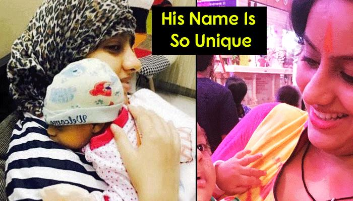 Latest Pictures Of 'Diya Aur Baati Hum' Fame Deepika Singh's Baby Are Too Cute To Be Missed!