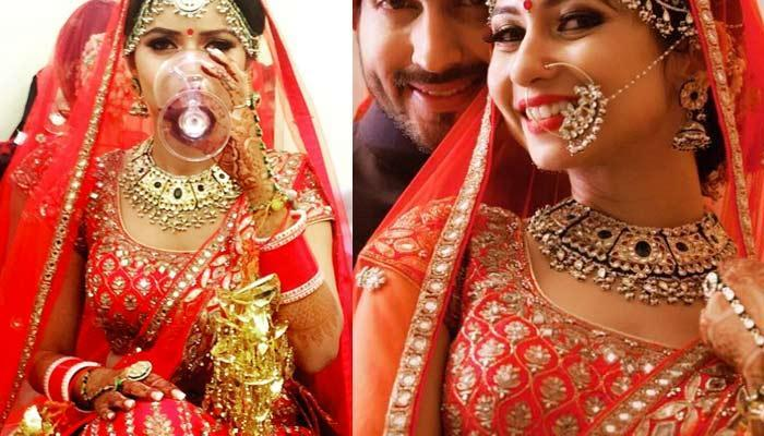 This TV Actress Tattooed Husband's Name On Her Ring Finger; Celebrated First Karva Chauth Last Year