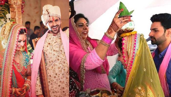 Unseen Pictures Of Divyanka Tripathi And Vivek Dahiya's Traditional 'Griha Pravesh' Ceremony