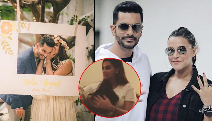 Angad Bedi Kissing Pregnant Wife Neha Dhupia's Belly In 'Chogada Challenge' Is Adorable Beyond Words