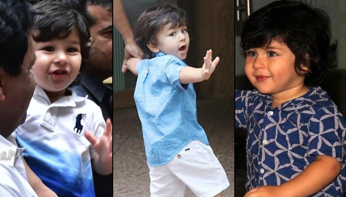 Taimur Ali Khan Dealing With Paparazzi At Young Age Is Perfect Glimpse Of A Superstar In The Making