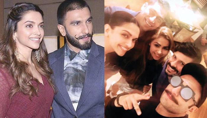 Deepika Padukone And Ranveer Singh On Dinner Date With His Mom, Allow Their Fans For Selfie