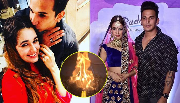 Yuvika Chaudhary And Prince Narula's Pre-Wedding Ceremonies Begin On An Auspicious Note With Havan