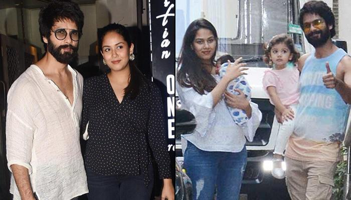 Shahid Kapoor And Mira Rajput Kapoor Spotted On A Dinner Date For The First Time After Zain Kapoor