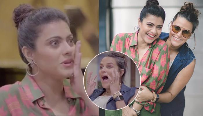 Kajol Mistakenly Calls Alia Bhatt 'Alia Kapoor' On Neha Dhupia's Show, Her Reaction Is Hilarious