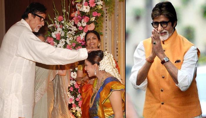 Aishwarya Rai Bachchan's Sister-In-law Shrima Rai Wishes Amitabh Bachchan On His 76th Birthday