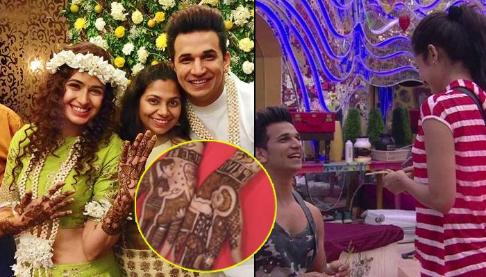 Yuvika Chaudhary's Mehendi Recreates A Scene From Bigg Boss House When Prince Got Down On His Knees