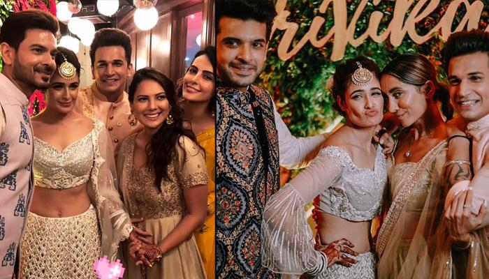Prince Narula And Yuvika Chaudhary Had A Star-Studded Sangeet And Cocktail Night, Pics Videos Inside