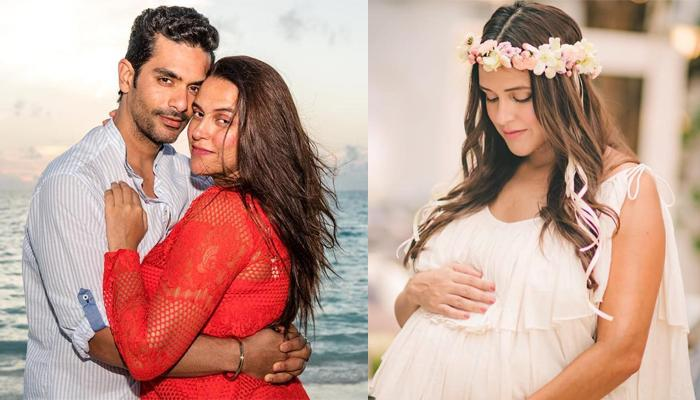 Neha Dhupia On Her First Baby's Name, Says Gifts She Is Receiving Have 'Baby' Written On Them