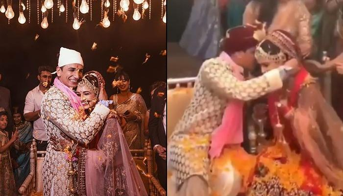 Prince Narula And Yuvika Chaudhary's 'Saat Phere' And 'Mangalsutra' Ceremony, Videos Inside!