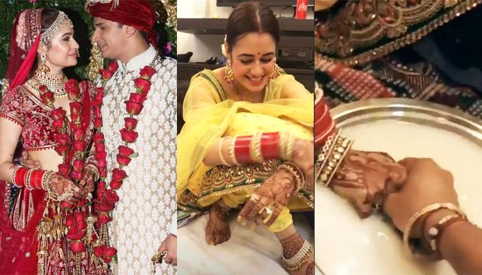 Prince Narula Shares Wifey Yuvika Chaudhary's First Look After Marriage Playing Post-Wedding Games