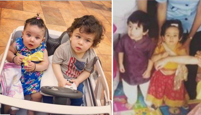 Taimur Ali Khan And Inaaya Naumi Kemmu Celebrate Navratri Together, Play Dandiya In Ethnic Outfits