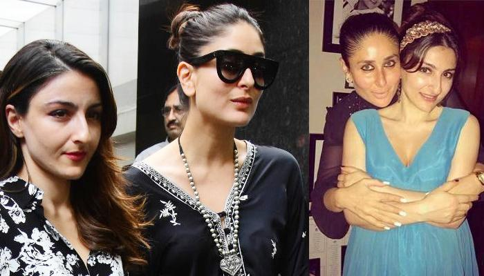 f4ad6236e4b Kareena Kapoor Khan Twins In Black With Sister-In-Law Soha Ali Khan On A  Lunch ...