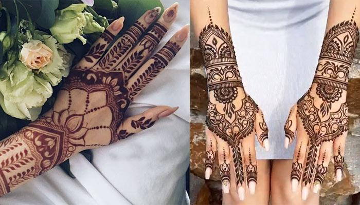10 Unique And Stunning Moroccan Mehendi Designs To Make Your Karva Chauth Mehendi 'Zara Hatke'