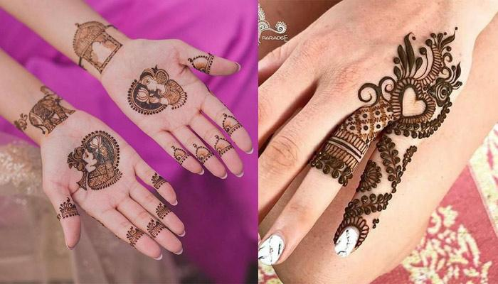 12 Minimal Mehendi Designs For Women Who Like To Keep It